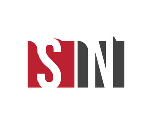 SN red square letter logo for network, nutrition, news, nation, north