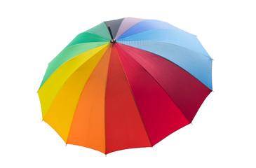 colorful umbrella Isolated