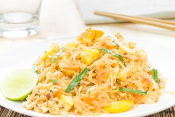 Pad Thai or Thai Fried Noodle