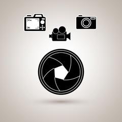 film industry flat icon  design