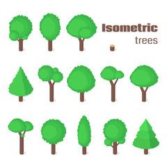 Isometric trees set.