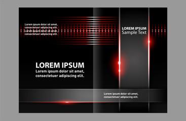 Brochure template folder leaflet