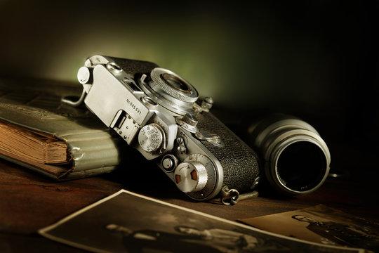 fotocamera antica