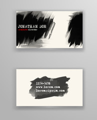 Creative business card templates.