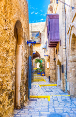 The maze of Jaffa streets
