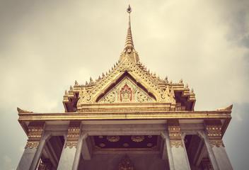 Wat Trimit, Bangkok, Thailand. Famous for its gigantic, three-me