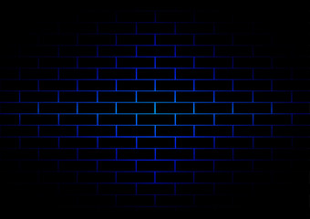 vector brick  dark blue background. illustration vector design