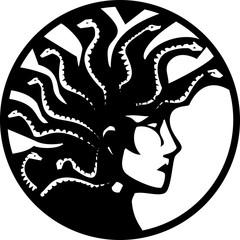 Medusa With Mohawk