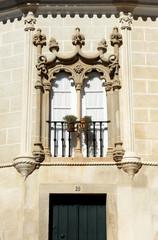 Window from Evora, Alentejo, Portugal