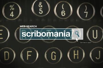Scribomania web search bar glossary term