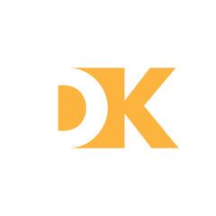 DK Logo   Vector Graphic Branding Letter Element   jpg, eps, path, web, app, art, ai   White Background