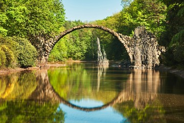 Arch bridge in Germany