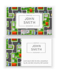 Template business cards
