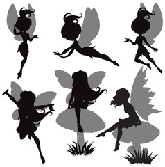 Fairy Silhouette Set