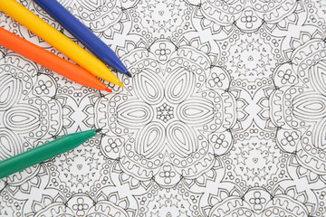 Adult Coloring Book. Using adult coloring books can help you relax, reduce stress and boost mental clarity.