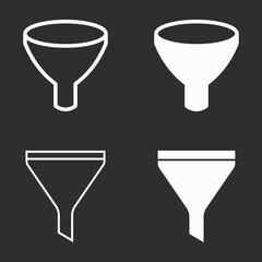 Funnel - vector icon.