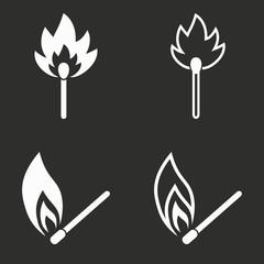 Match - vector icon.