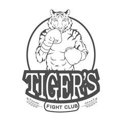 Fight Club Tigers logo