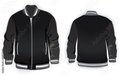 Sports Or Varsity Jacket Template Stock Image And Royalty Free