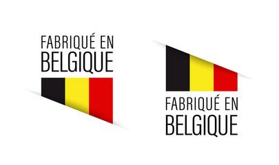 Fabriqué en Belgique