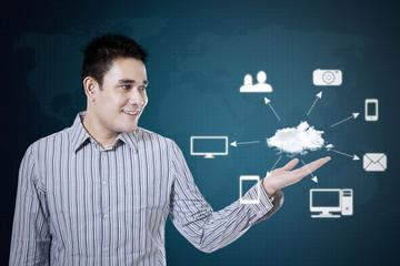 Technology connectivity concept