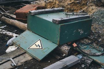 crash electrical cabinet