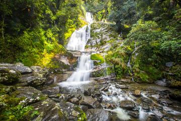 Hidden Waterfall, Haast Pass, New Zealand