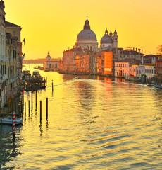 Aluminium Prints Venice Basilica Santa Maria della Salute, Venice, Italy