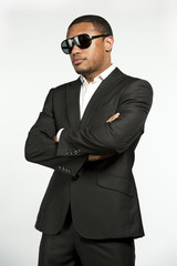 Vogue Style Formal Black Male