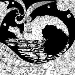 Turtle-moon