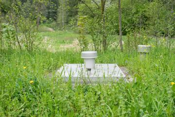 Brunnen zur Förderung von öffentlichem Trinkwasser