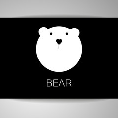 bear animal template