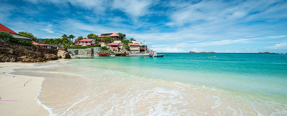 St Barth Island, Caribbean sea