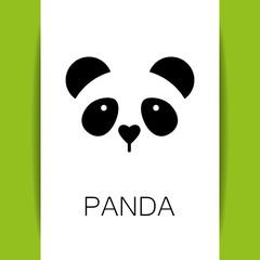 panda bear template