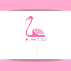 flamingo bird sign