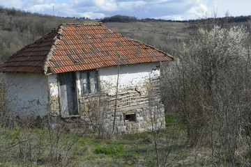 old mud house