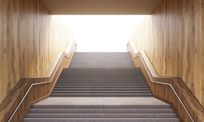 Success concept stairs