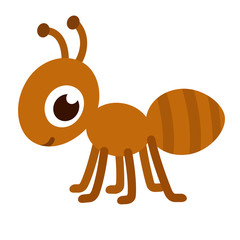 Cute cartoon ant.
