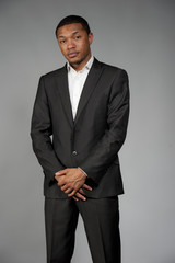 Black Male In A Suit