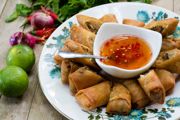 fried spring roll / por pia tord