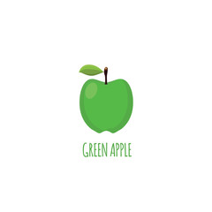 Vector File of Green Apple
