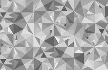 Abstract grey diamond vector geometric art background