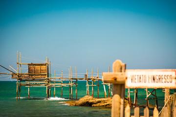 Foto op Aluminium Poolcirkel italian seaside