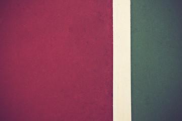 tennis court surface, sport background.Vintage color