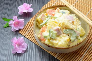 Delicious Japanese potato salad