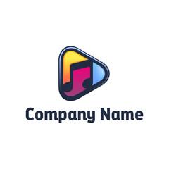 Music Play Logo