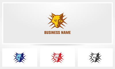 Fox Wolf Claw Marks Logo