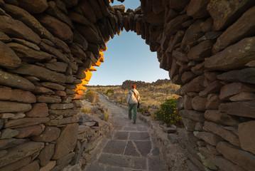 Adventures on Amantani' Island, Titicaca Lake, Peru