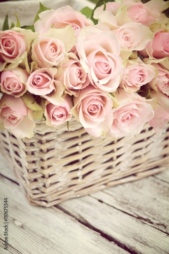 gru karte rosa rosenstrau vintage blumenstrau stockfotos und lizenzfreie bilder auf. Black Bedroom Furniture Sets. Home Design Ideas