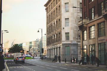 Лондон, уличная съемка